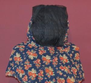 Sejas maska, ko izsūtījumā lietojusi Zigrīda Audze