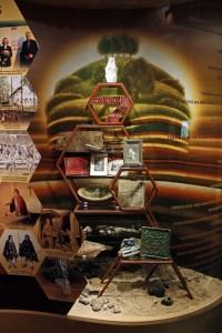 """Ekspozīcijas daļa """"Turaidas vēsturiskā centra kultūras mantojums muzejrezervāta ekspozīcijās"""""""
