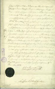"""Allažu muižas īpašnieka V. fon Blankenhāgena nomas līgums ar Allažu """"Braču"""" māju saimnieku Anču Kalniņu. Līguma noslēgums. Kopija"""