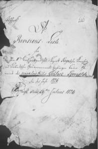 Uzvārdu piešķiršana Siguldas zemniekiem. 1826. gada dvēseļu revīzijas akta kopija. Latvijas Valsts vēstures arhīvs