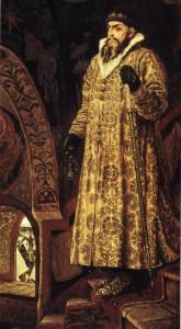 Maskavijas lielkņazs Ivans IV, saukts Bargais. Viktora Vasņecova glezna, 1897