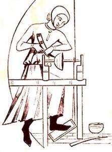 Koka bļodas virpotājs – 13. gs. dāņu miniatūra