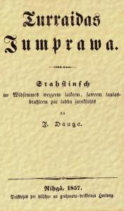 """Juris Dauge""""Turaidas jumprava"""". 1857"""