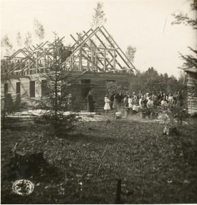 Jaunsaimniecības spāru svētki Turaidā. 20. gadsimta 20. gadi