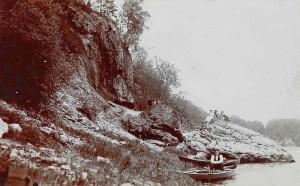 Daugavas Staburags, 20. gadsimta 20tie gadi. Fotogrāfs nezināms