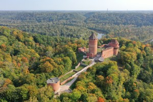 Gauja Primeval Valley and the castle of Turaida