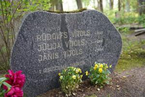 Vītolu dzimtas kapi Turaidas kapsētā. 2021. gads