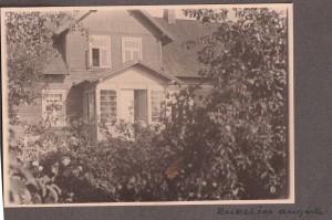 Rudzīšu mājas 1936. gadā. Foto – Voldemārs Caune