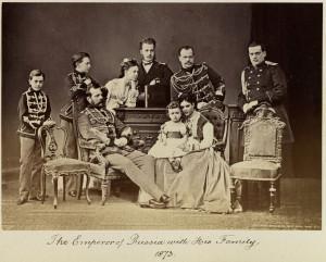 Cara Aleksandra II ģimene. 1870.-1873. gads