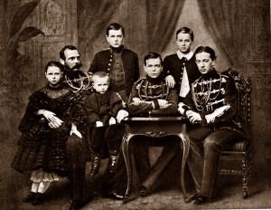 Cara Aleksandra II ģimene. 1861. gads