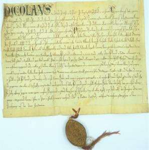 Rīgas bīskapa Nikolaja 1248. gada 16. augustā Turaidā izdotais dokuments