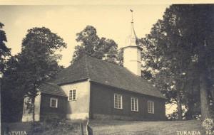 Turaidas baznīca. 1931. gads